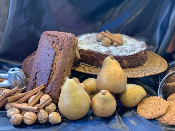 Pear date and coconut cake Porirua