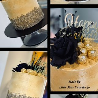 A fabulous gold celebration cake was delivered  to a young lady celebrating her 40th. What a beautiful cake for such a special occasion. Happy Birthday Nadia❤️ Everyone deserves a little sweet . . . . Order your cupcakes today - surprise a special someone with a box of cupcakes from Little Misscupcakejo. www.littlemisscupcakejo.co.nz From $25.00 with FREE DELIVERY between Churton Park and Pukerua Bay #josutton #whitby #poriruacitry #porirua #tawa #titahibay #paremata #papakowhai #camborne #aotea #lovecake #cakebaker #cakedesign #cakeinspiration #cakedecoratorinporirua #affordablecakedecorator #celebrationcakes #cakelady #caketoyou #corporatecakes #officecakeshout #birthdaycake #sweetcakes #iwantcake #cupcakecompetition #cupcake #weddingcake #babyshower #21stcake
